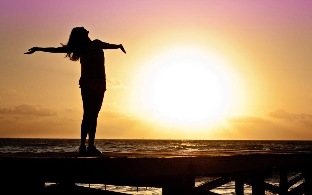 "Affirmationen aus der Meditation ""I am light. I am love. I am."""